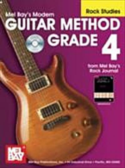 &quote;Modern Guitar Method&quote; Series Grade 4, Rock Studies