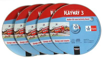 Playway. Für den Beginn ab Klasse 1 Schüler-Audio-CD 5er-Pack 3. Schuljahr