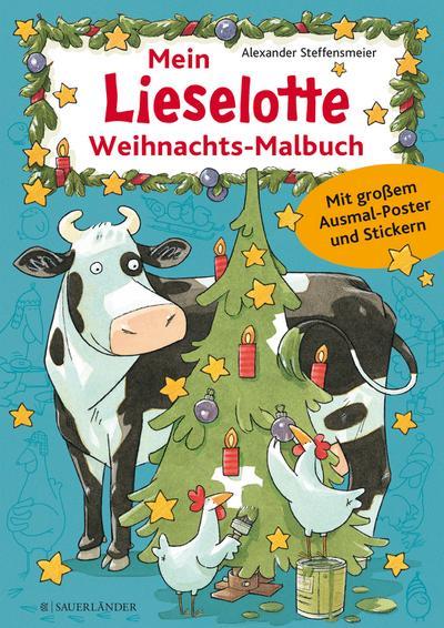 Lieselotte Weihnachts-Malbuch