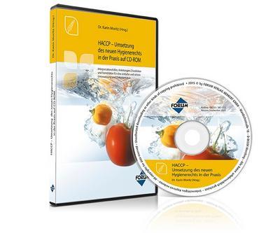 HACCP - Umsetzung des neuen Hygienerechts in der Praxis, 1 CD-ROM