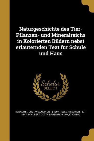 GER-NATURGESCHICHTE DES TIER-