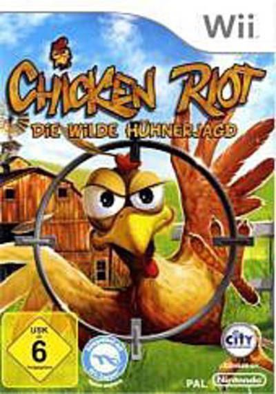 Chicken Riot, Nintendo Wii-Spiel