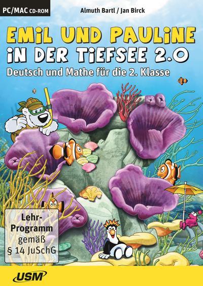Emil und Pauline in der Tiefsee 2.0 - Deutsch und Mathe für die 2. Klasse