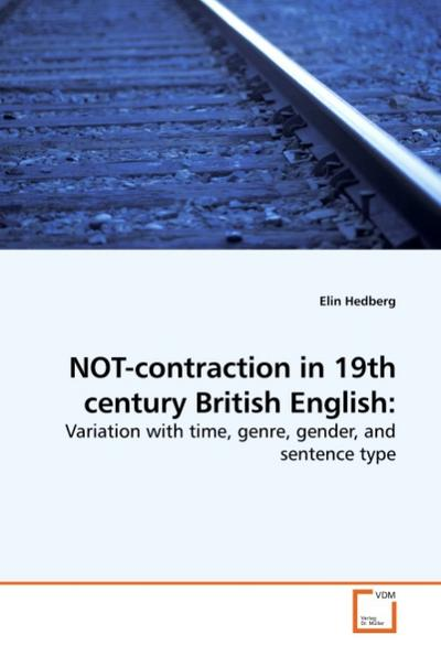NOT-contraction in 19th century British English: