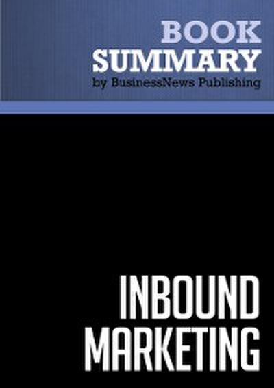 Summary: Inbound marketing  Brian Halligan and Dharmesh Shah