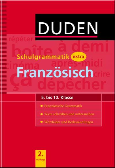 Duden - Schulgrammatik extra - Französisch