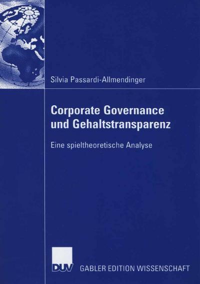 Corporate Governance und Gehaltstransparenz