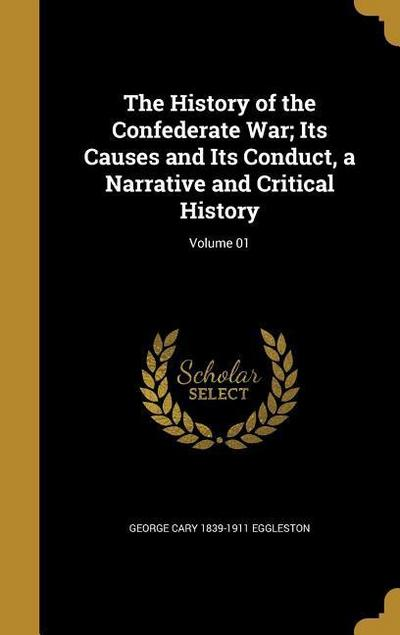 HIST OF THE CONFEDERATE WAR IT
