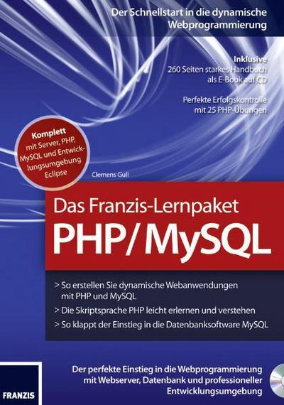 Gull, C: Lernpaket PHP/CD-ROM
