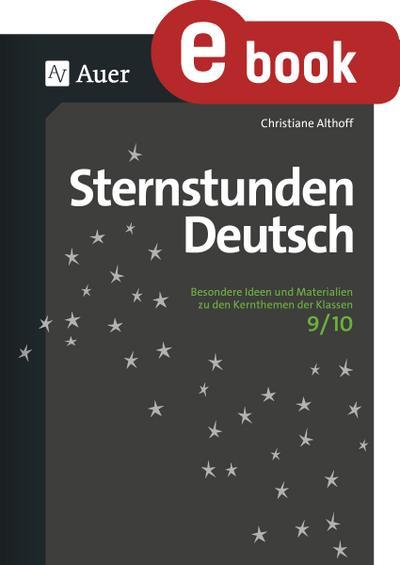 Sternstunden Deutsch 9-10