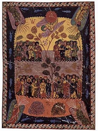 Magius - Beatus-Apokalypse, Engel, aus der Sonne kommend, und die vier Winde - 200 Teile (Puzzle)