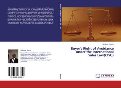 Buyer's Right of Avoidance under the International Sales Law(CISG)