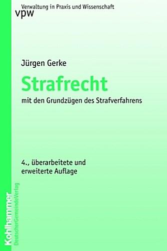 Strafrecht Jürgen Gerke