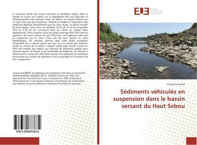 Sédiments véhiculés en suspension dans le bassin versant du Haut Sebou