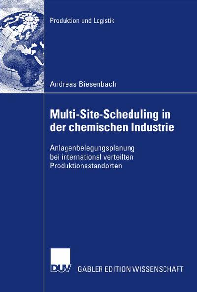 Multi-Site-Scheduling in der chemischen Industrie