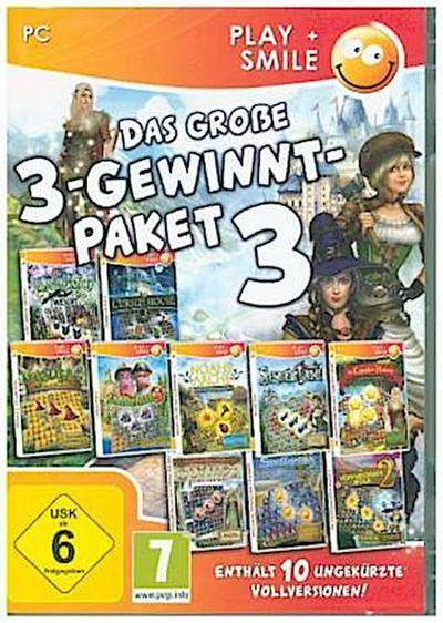 Das große 3-Gewinnt-Paket 3, 1 CD-ROM