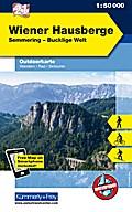 KuF Österreich Outdoorkarte 21 Wiener Hausberge 1 : 50 000
