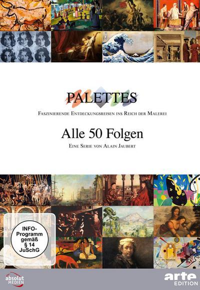 Palettes - Alle 50 Folgen 1-17 [17 DVDs]