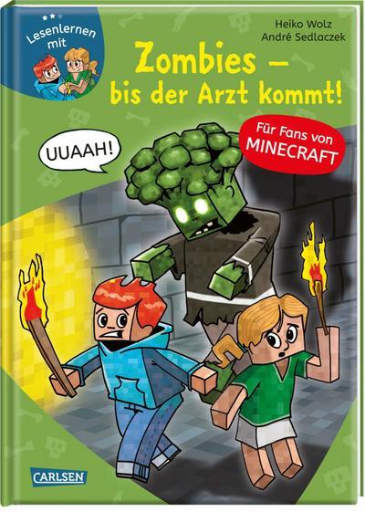 Lesenlernen mit Spaß - Minecraft 1 Zombies, bis der Arzt kommt!