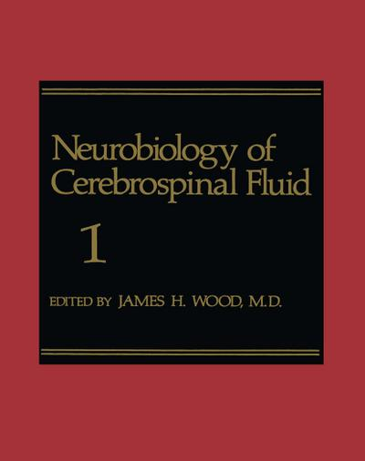 Neurobiology of Cerebrospinal Fluid 1