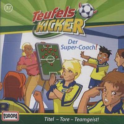 Die Teufelskicker - Der Super-Coach!, 1 Audio-CD