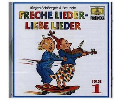 Freche Lieder - Liebe Lieder 1