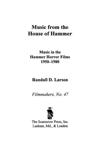 Music from the House of Hammer