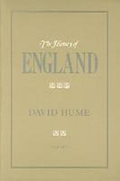 The History of England Volume V
