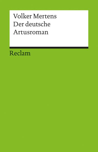 Der deutsche Artusroman