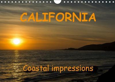 CALIFORNIA Coastal impressions (Wall Calendar 2019 DIN A4 Landscape)