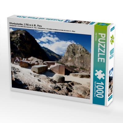 Ollantaytambo, 2.792 m ü. M.. Peru (Puzzle)