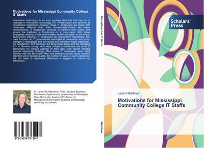 Motivations for Mississippi Community College IT Staffs