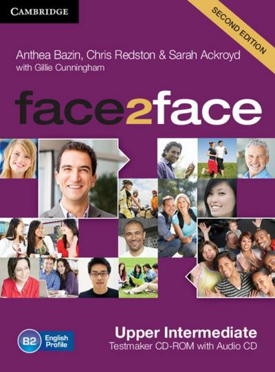 face2face. Testmaker CD-ROM and Audio-CD. Upper-Intermediate 2nd edition