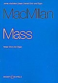 Mass: gemischter Chor (SATB) und Orgel. Orgelauszug.
