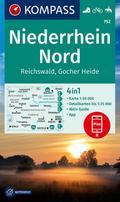 Niederrhein Nord, Reichswald, Gocher Heide 1:50 000