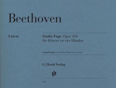 Große Fuge für Klavier zu vier Händen op. 134