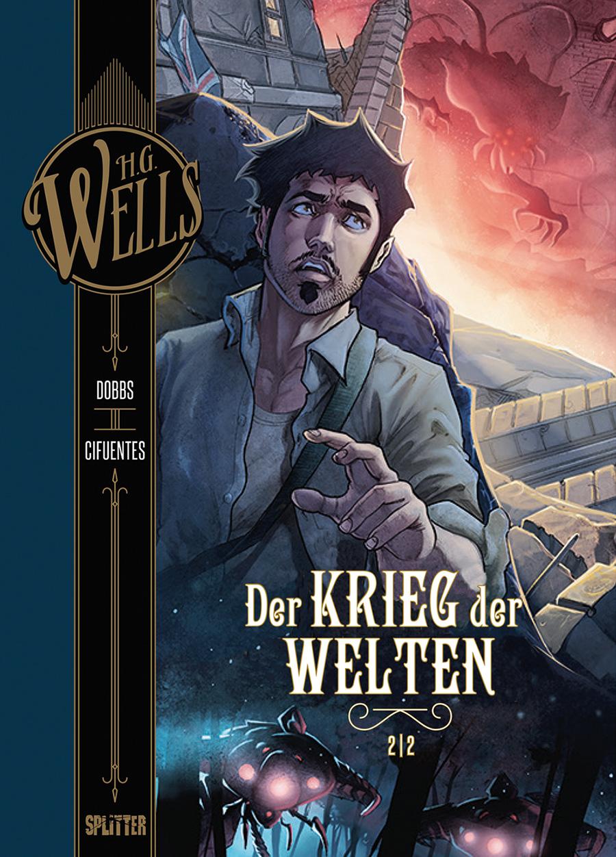 Wells 2 Deutsch H.G Krieg der Welten 1 Comic Splitter NEUWARE