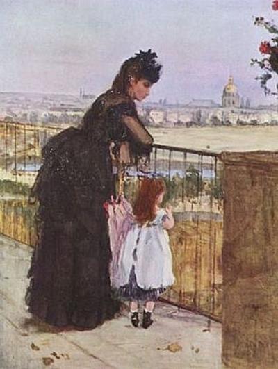 Berthe Morisot - Balkon - 1.000 Teile (Puzzle)