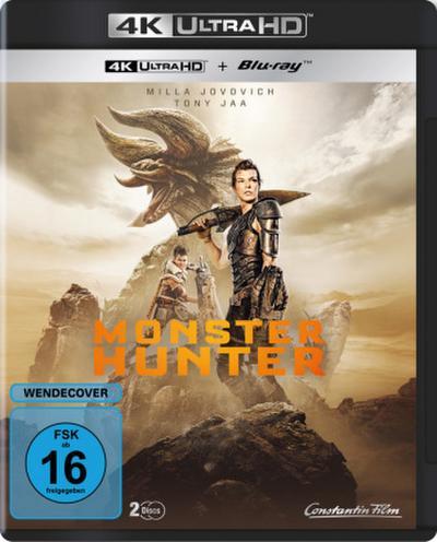 Monster Hunter - 4k UHD, 2 UHD Blu-ray