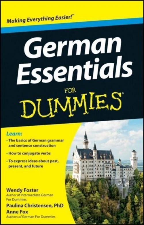 German Essentials For Dummies Wendy Foster