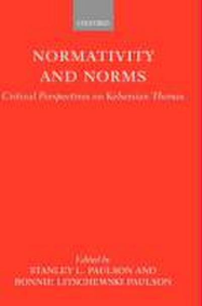 Normativity and Norms: Critical Perspectives on Kelsenian Themes
