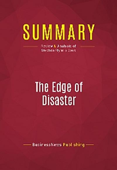 Summary: The Edge of Disaster