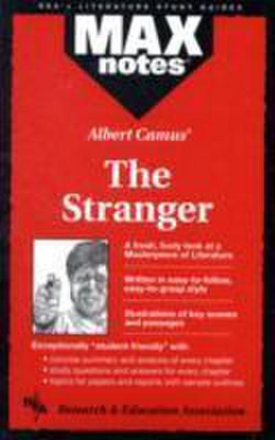 Stranger, the (Maxnotes Literature Study Guides)