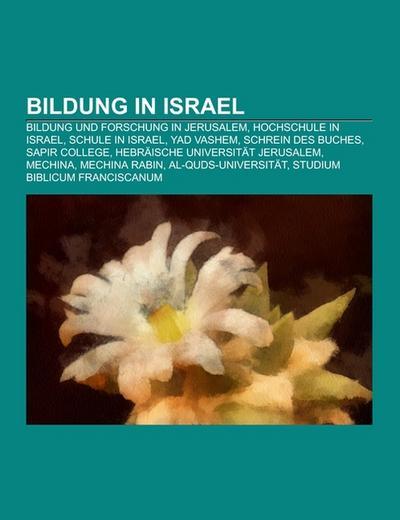 Bildung in Israel
