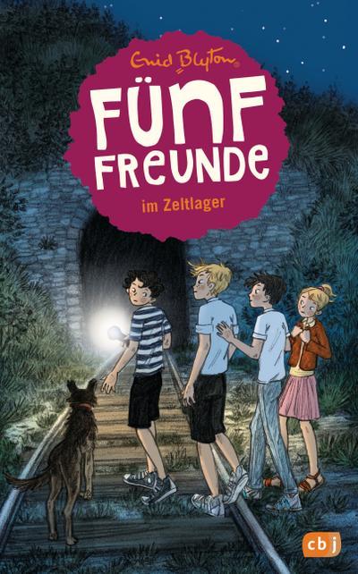 Fünf Freunde 07. Fünf Freunde im Zeltlager