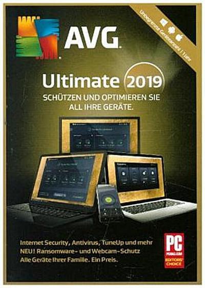 AVG Ultimate 2019, 1 DVD-ROM