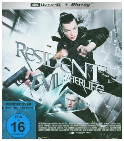 Resident Evil: Afterlife 4K, 1 UHD-Blu-ray + 1 Blu-ray