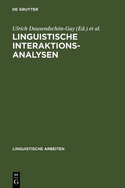 Linguistische Interaktionsanalysen