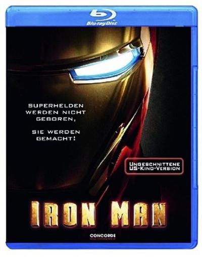Iron Man, 1 Blu-ray, deutsche u. englische Version