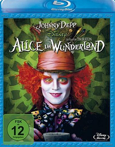 Alice im Wunderland, 1 Blu-ray